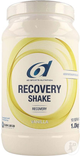6D Sports Nutrition Recovery Shake Vanilla Dose 1kg