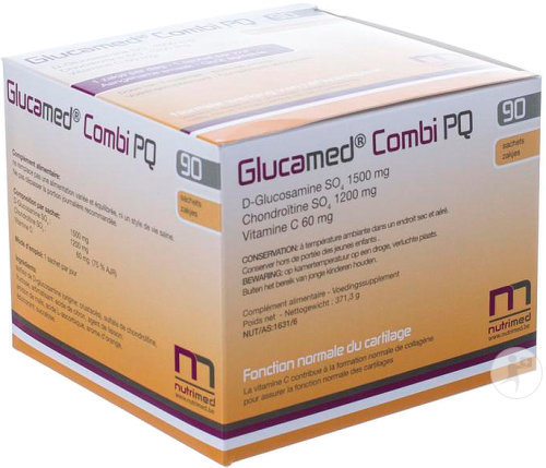 Glucamed Pq Combi Pack 90