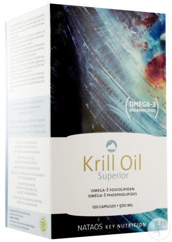 Krill Oil Superior-Gelcaps 120x500mg