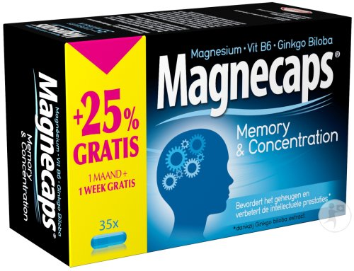 Magnecaps Memory & Concentration 35 Kapseln Promo