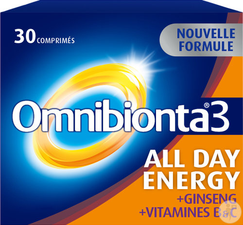 Omnibionta 3 All Day Energy 30 Tabletten New Formula