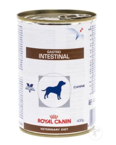 Royal Canin Veterinary Diet Hund Gastro Intestinal Canine Feuchtnahrung  Dose 12x400g