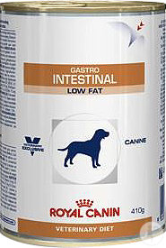 Royal Canin Veterinary Diet Hund Gastro Intestinal Low Fat Canine Nassfutter 12x410g