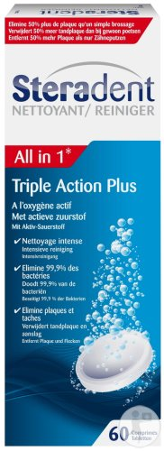 Steradent Triple Action 60T
