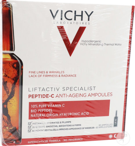 Vichy Liftactiv Specialist Peptide-C Anti-Aging Ampullen 30x1,8ml