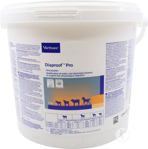 Virbac Diaproof Pro Pulver Tiere Eimer 3kg