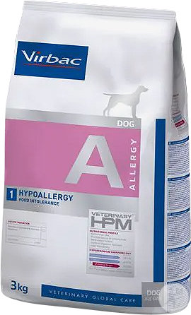 Virbac Veterinary HPM Dog Hypoallergy Insect A1 Hund Beutel 3kg