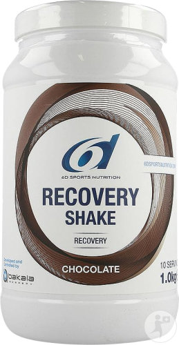 6d Sports Nutrition Recovery Shake Saveur Chocolat Pot 1kg