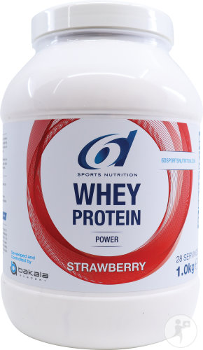 6d Whey Protein Strawberry 1kg