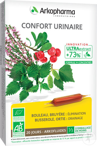 Arkofluides Confort Urinaire 20 Unicadoses