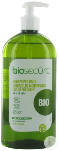 Bio Secure Shampoing Cheveux Normaux Flacon Pompe 730ml