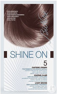 Bionike Shine On Soin Colorant Cheveux 5 Chatain Clair 1 Boîte