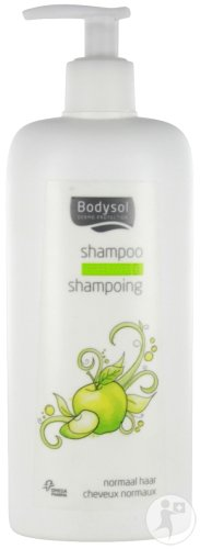 Bodysol Shampoing Cheveux Normaux Pomme Flacon Pompe 400ml