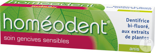 Boiron Homéodent Dentifrice Soin Gencives Sensibles Anis 75ml
