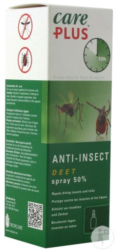 Care Plus Anti-Insect DEET 50% Spray 60ml