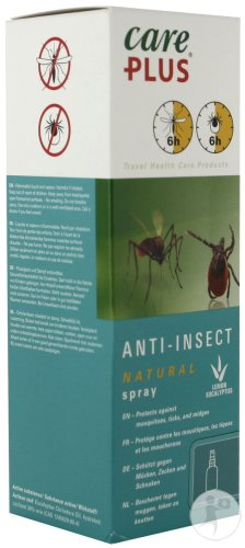 Care Plus Natural Anti-Insect Spray 60ml