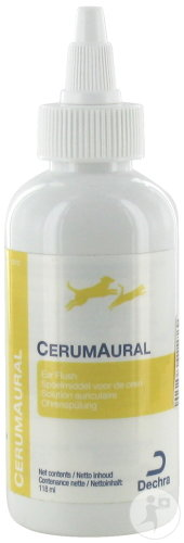 CerumAural Solution Auriculaire Chiens Flacon 118ml