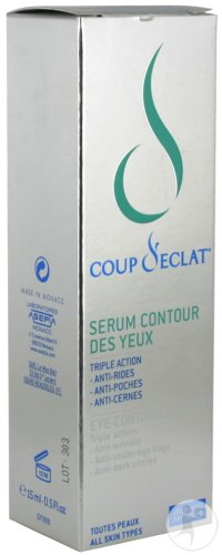 Coup D'eclat Serum Contour Yeux Nf Tube 15ml