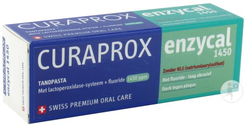 Curasept Curaprox Enzycal 1450 Dentifrice Tube 75ml