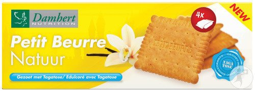 Damhert Petit Beurre Biscuits Nature S/suc.6x33,4g