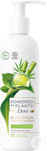 Dove Powered By Plants Lotion Corporelle Bambou Apaisant 250ml