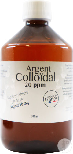Dr. Theiss Argent Colloïdal 20PPM Flacon 500ml