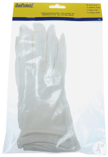 DuoProtect Gants Coton Small 1 Paire