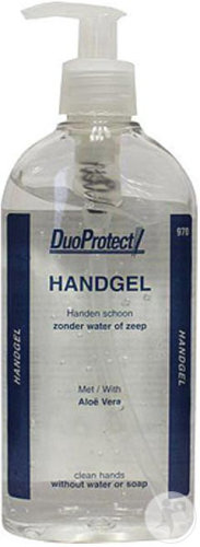 DuoProtect Gel Mains Flacon Pompe 250ml