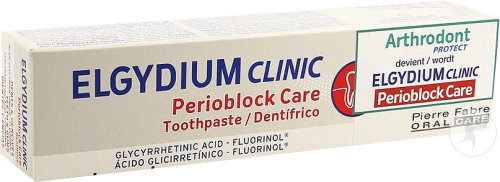 Elgydium Clinic Perioblock Care Dentifrice Dents Et Gencives Tube 75ml