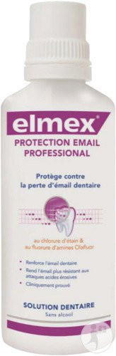 Elmex Protection Email Professional Solution Dentaire Flacon 400ml