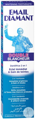 Email Diamant Dentifrice Double Blancheur Tube 75ml