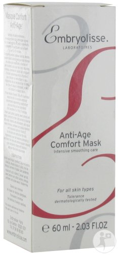 Embryolisse Masque Confort Anti-Âge Soin Intense Lissant Tube 60ml