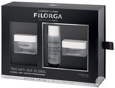 Filorga Coffret Cross Time Filler Eyes 15ml + Solution Micellaire 50ml + Lift-Structure 15ml