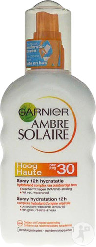 Garnier Ambre Solaire IP30 Spray Hydratant 12h Protection Solaire 200ml