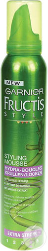 Garnier Fructis Style Mousse Hydra-Boucles Extra Strong 200ml