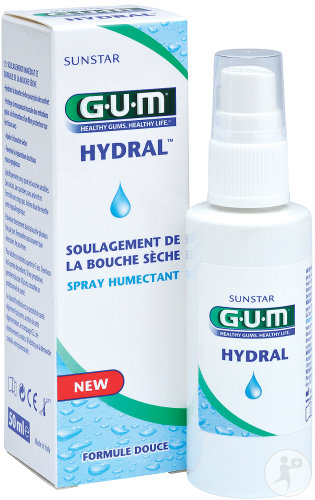 Gum Hydral Spray Buccal Humectant 50ml (6010)