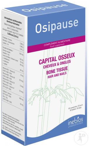 Inebios Osipause Capital Osseux Cheveux & Ongles 60 Comprimés