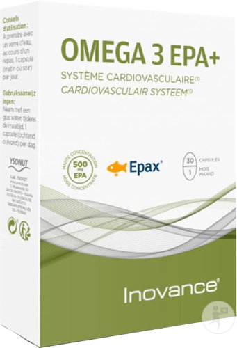 Inovance Omega 3 EPA+ Système Cardiovasculaire 30 Capsules