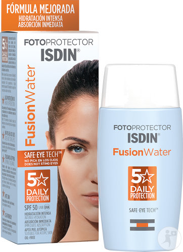 Isdin Fotoprotector FusionWater IP50 Visage Toutes Peaux 50ml