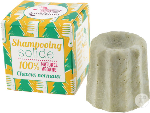Lamazuna Shampoing Solide Cheveux Normaux Au Pin Sylvestre 55g
