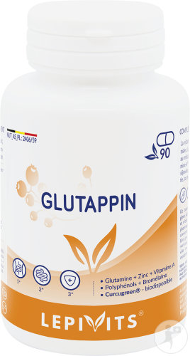 Leppin Glutappin Pot 90 Capsules Nouvelle Formule