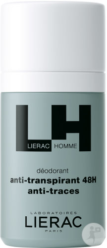 Lierac Homme Déodorant Anti-Transpirant 48h Anti-Traces Roll-On 50ml