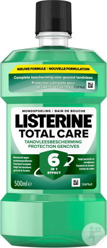 Listerine Total Care Rince-Bouche 6en1 Protection Gencives 500ml