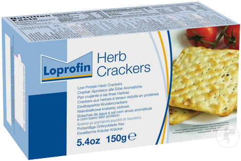 Loprofin Crackers Aux Herbes 150g
