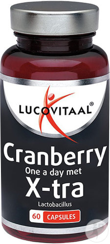 Lucovitaal Cranberry Lactobacillus X-Tra Forte 3750mg Capsules 60