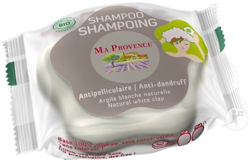 Ma Provence Shampoing Antipelliculaire Argile Blanche Naturelle 85g
