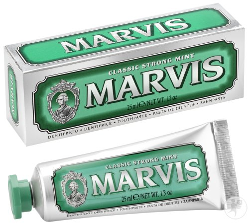 Marvis Classic Strong Mint Dentifrice Tube 25ml