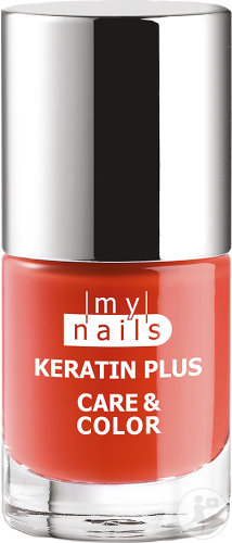 My Nails Keratin Plus Care & Color Vernis Gel 08 Coral 7ml