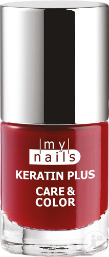 My Nails Keratin Plus Care & Color Vernis Gel 10 Ruby Rouge 7ml