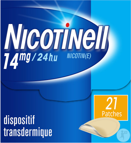 Nicotinell 14mg/24h 21 Patchs